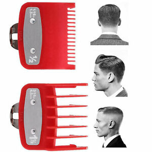 Hair Clipper Guide Comb Set Standard Guards Attach Trimmer Parts For Wahl