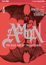 JP1219 - Manga - J-Pop - Amon The Dark Side Of The Devilman 4 - Nuovo !!!