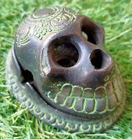 Human Skull Cigar & Cigarette Ashtray Vintage Designer Patterns GIft for Smokers