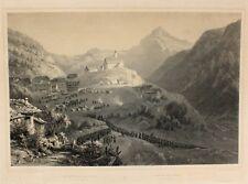 Schweiz Suisse Gotthard-Manöver Wassen Uri Biwak Feldlager Marsch Gebirgsjäger