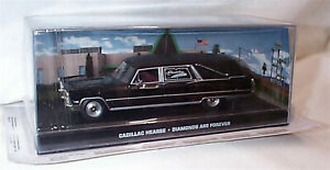 James bond 007 Cadillac Hearse Diamonds are Forever New Sealed outer