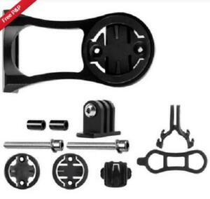 Bike Stopwatch Adapter Stem Extension Mount Bracket Garmin Edge GPS GoPro Black