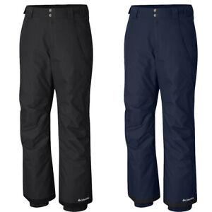 "New Mens Columbia ""Bugaboo"" Omni-Heat Snow Waterproof Winter Ski Pants"