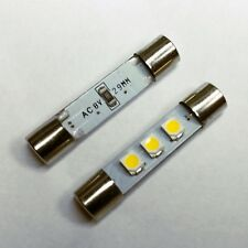Led fuse lamp 8v for Marantz, Pioneer, Sansui, Kenwood, ... vintage receiver
