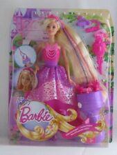 Mattel Barbie DKB62 - Modepuppen - 4 Königreiche - Zauberhaar Flechtspaß Prinzes