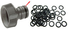 50 Gardena, Hozelock Connector O-Ring Seal Spares for Garden Hose Reel Nozzle