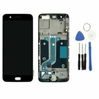 For Oneplus 5 A5000 LCD Display Touch Screen Digitizer Assembly + Frame Replace