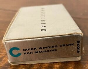 Hasselblad 41076 Quick Winding Crank for Film Magazine in Box - New Old Stock
