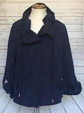 St John Gold Label Navy Blue Size S Jacket/Parka