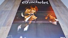PIERRE BACHELET ! grand format affiche cinema musique concert rock jazz vintage