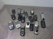 Lot Of 19 Mix Motorola Nextel Samsung Nokia Palm Cell Phone Untested/Asis
