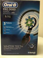 Oral-B Pro 3000 3D White SmartSeries Black Edition
