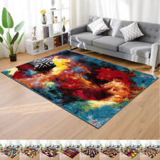 Extra Large Living Room Rug 3D Effect Area Rug Small Large Floor Carpet UK Sizes