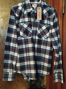 Camicia Cotone Levi's Taglia S Nuova Con Cartellino
