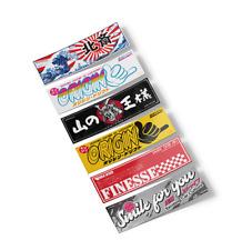 SaitoWorks Mini Slap Stickers (Pack #2) JDM Japan Car Drift Decal