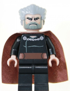LEGO Star Wars Count Dooku Minifigure 7752 9515 Clone Wars SW0224