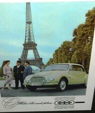 Vintage Auto Union Audi Advertising Promotion Poster