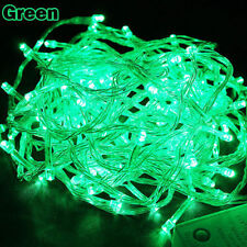 50FT 200 LED GREEN String Fairy Lights Party Christmas Decor Outdoor Indoor