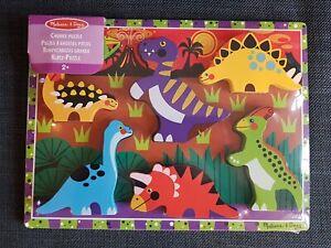 Melissa & Doug Chunky Dinosaur Puzzle Age 2+