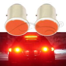 2pcs Red 1156 BA15S P21W Led Car LED 1156 Lamp COB 12 SMD 12V Voltage