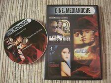 DVD CINE DE MEDIANOCHE 3 PELICULAS EN 1 DVD ( 2 ) CAJA SLIM USADO BUEN ESTADO