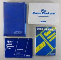 Owner's Manual + wallet Fiat Marea Weekend from 01/1997