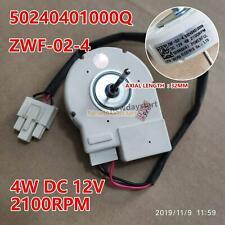 50240401000Q para refrigerador del motor del ventilador ZWF-02-4 DC12V 4W 2100RPM