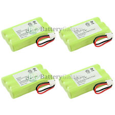 4 Home Phone Rechargeable Battery for SANIK 3SN-5/4AAA80H-S-J1 2-8001/8011/8021