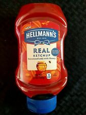 (3-pack) BRAND NEW UNOPENED HELLMAN'S 20 OZ REAL KETCHUP CONDIMENT BBD 7/13/20