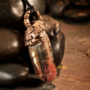 Healing Stones For You: Amphibole Quartz | Angel Phantom Quartz Pendant G
