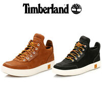 Timberlands Mens Amherst High Top Chukka Boots, Brown or Black, Casual Shoes