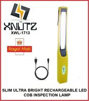 Inspection Lamp Work Light Torch SLIM Ultra Bright LED 2W COB USB Rechargeable