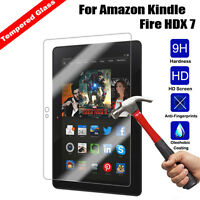 9H Premium Tempered Glass Film Screen Protector For Amazon Kindle Fire HDX 7