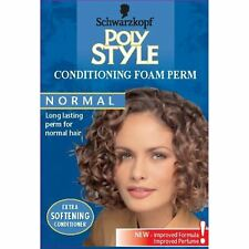 Schwarzkopf Poly Style Conditioning Foam Long Lasting Perm for Normal Hair