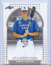 "PARKER MEADOWS  2017 ""1ST EVER PRINTED"" PERFECT GAME AAC ROOKIE CARD!!!"