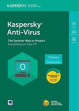 New Kaspersky Anti-Virus 2018 - 3 Devices/1 Year
