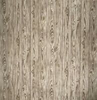 Wallpaper Brown gold rustic rusted wood planks boards textured Non-Woven roll 3D