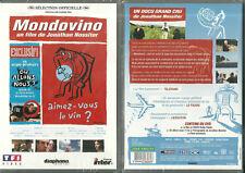 DVD - MONDOVINO : LE MONDE DU VIN DOCUMENTAIRE GRAND CRU  VIGNE / NEUF EMBALLE