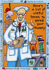 Here's A List Of Useful Terms Funny Get Well Card by Oatmeal Studios