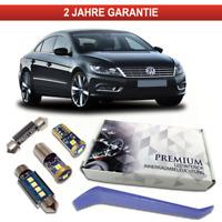 VW Passat CC Premium LED Innenraumbeleuchtung 9 SMD Set Weiß Canbus