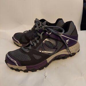Pearl Izumi Cycling Shoes Women's 40(8 U.S.) Purple/Gray Worn Once