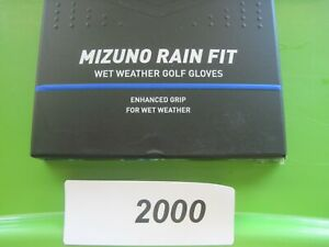 Mizuno  RAIN FIT   X-Large Golf Glove Pair Enhanced Grip Wet Weather  #2000