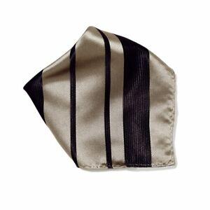Vesuvio Napoli Handkerchief Pocket Square Hanky Men's Hankerchiefs Woven Design