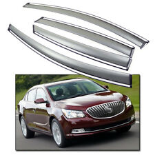 Window Visor Vent Shade Rain/Sun Guard Deflectors for 2010-2015 Buick LaCrosse