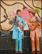 THE BEATLES POSTER PAGE . HELLO GOODBYE PROMO GEORGE HARRISON PAUL MCCARTNEY V22