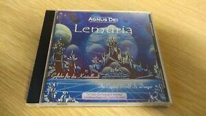 CD Agnus Dei Lemuria A Tale In Tunes & Poems Danger w/Lyric Book 2002 Sandrose