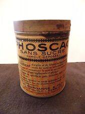 Boite en Fer Phoscao Cacao A Bardanne & Fils Tin