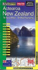 Map of New Zealand, Country Map (Aotearoa) by KiwiMaps