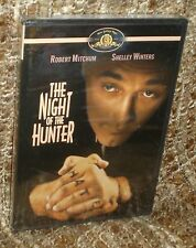The Night Of The Hunter Dvd, New And Sealed, Rare & Hard To Find, A Classic!