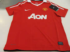 Manchester United 2011 Soccer Home Jersey SS S  Youth